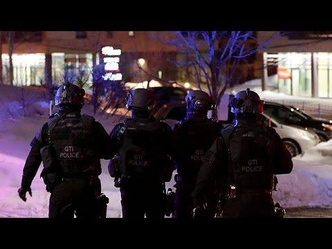 Fusillade dans une mosquée de Québec: 6 morts et de plusieurs blessés