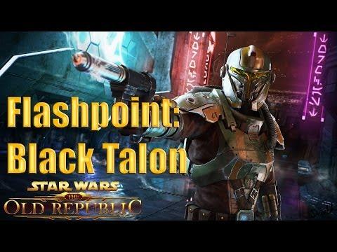 Star Wars: The Old Republic Bounty Hunter Gameplay Walkthrough Part 9 – Flashpoint: Black Talon
