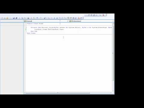 Video 5 de Visual Studio: Utilizar ListBox