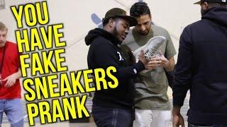 EXPOSING SNEAKERHEADS PRANK!! (FAKE YEEZYS!)