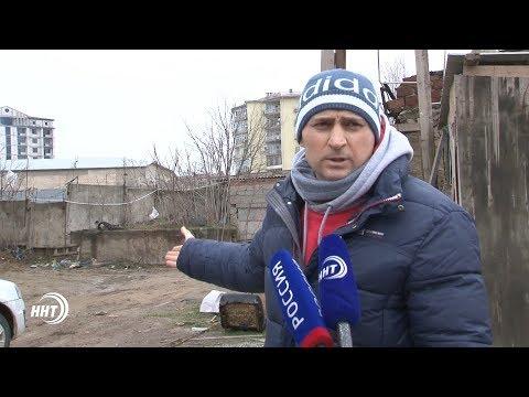 Махачкалинец заявил, что не готов терпеть действия строителей (видео)