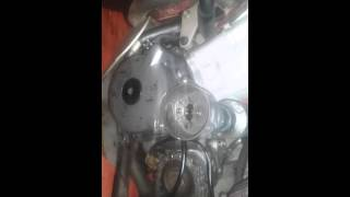 9. drz 400s stator removal