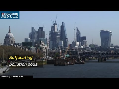 Suffocating pollution pods