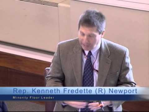 """Rep. Fredette and his """"man's brain"""" oppose health care funding"""