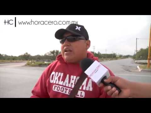 El hombre que predice un accidente en pleno reportaje