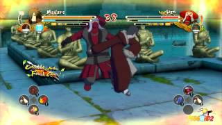Naruto Shippuden: Ultimate Ninja Storm 3: DUB Battles #1 (Madara, Darui, Tobi, Nagato)