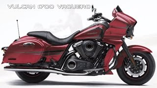 9. 2017 Kawasaki Vulcan 1700 Vaquero : Sporty Flowing-Design Bagger Loaded With Top-End Tools