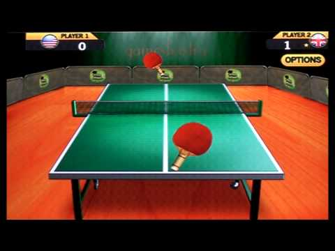 Video of World Ping Pong Championship