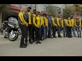 Buffalo Soldiers Motorcycle Club educating about the past and doing good