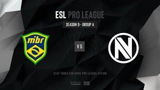 MIBR vs EnVy - ESL Pro League Season 9 NA - map1 - de_cache [MintGod]