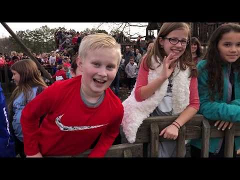 Video: Student body at Castle Playground Dec. 19, 2018