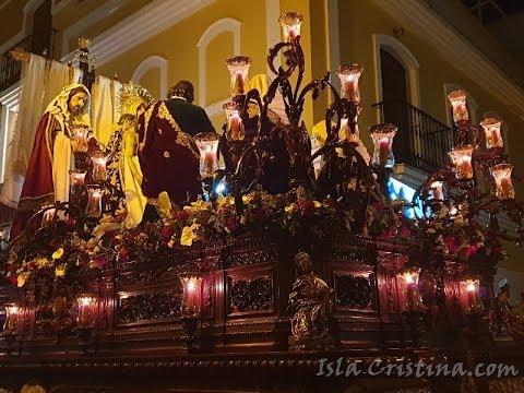 Viernes Santo. Hermandad de la Piedad y Santo Entierro. Semana Santa Isla Cristina 2019