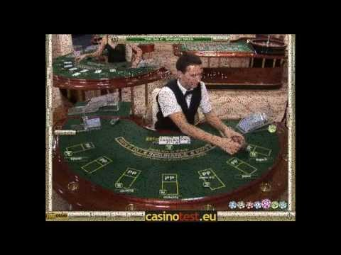 Live Dealer Blackjack Video