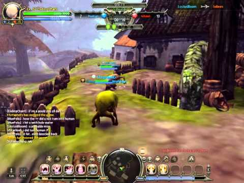 [Dragon Nest] PvP Ghoul: i hide in tree!/i angry ghoul