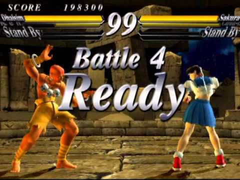 Street Fighter EX 3 (PlayStation 2) Original Mode as Dhalsim