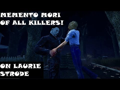Dead by Daylight - All Killer Memento Mori on Laurie Strode (Survivor PoV)