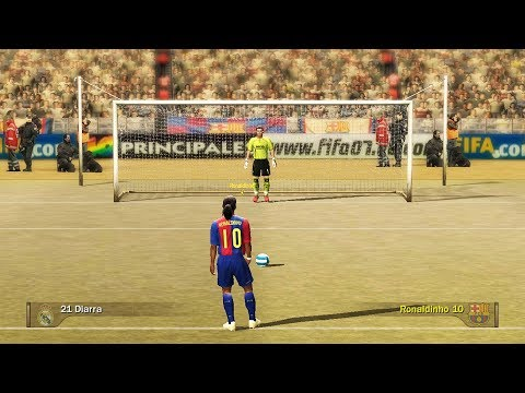 Penalty Kicks From FIFA 94 to 19