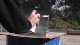 Come utilizzare correttamente la vernice spray trasparente lucida (Areco Italia Tutorial)