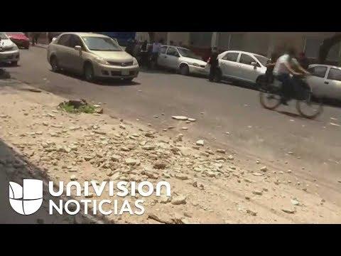 Terremoto de 7.1 sacude la Ciudad de México, día del aniversario del poderoso terremoto de 1985