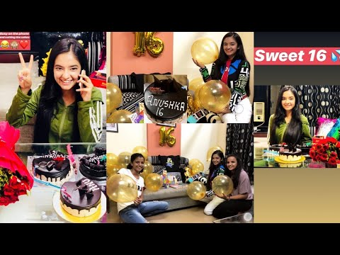Video Anushka Sen 16th Birthday Celebration with Family and Friends 2018 download in MP3, 3GP, MP4, WEBM, AVI, FLV January 2017