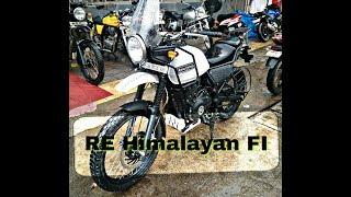 Royal Enfield Himalayan FI BSIV variant walk around review exclusive on Being Superr Indian...
