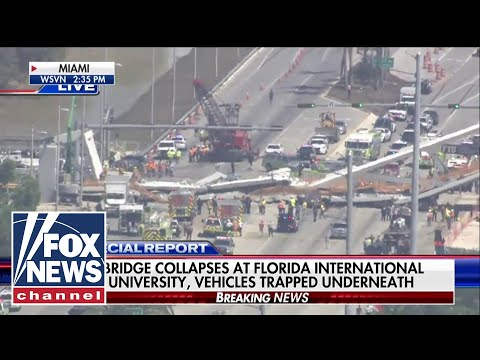 Several dead, at least four injured in Miami bridge collapse