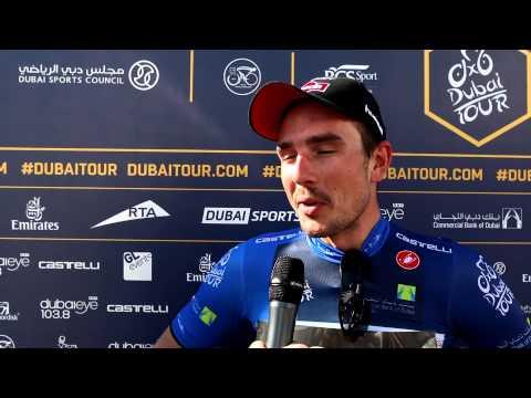 John Degenkolb 'collapsed' after Dubai Tour sprint (video)