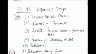 Mod-01 Lec-33 Confidence Interval For Propotions And Introduction To Experimental Design