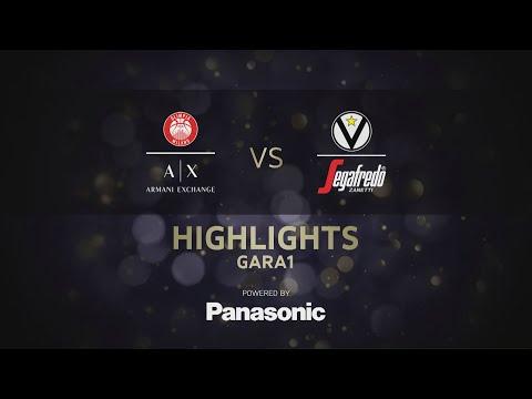 Serie A 2021 playoff Finale G1 highlights: <br>A|X Armani Exchange Milano-Virtus Segafredo Bologna