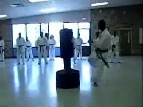 ASKA- American Shotokan Karate Academy, Killeen TX- Demo- Sensei Michael J. Jackson