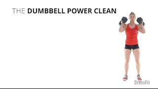 The Dumbbell Power Clean