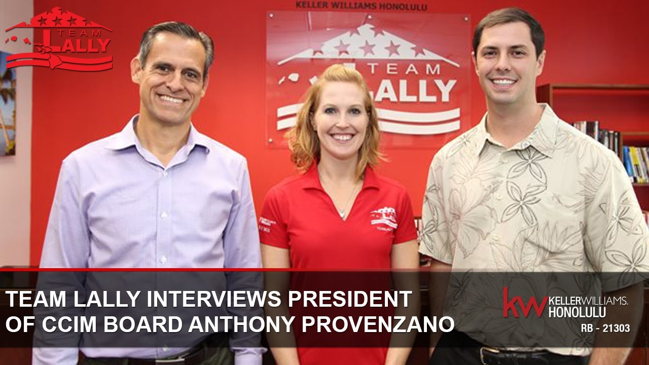 Team Lally Interviews President of the CCIM Board Anthony Provenzano
