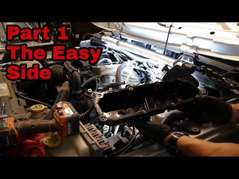 Replacing Valve Cover Gaskets & Spark Plugs Jeep Jk wrangler Driver Side Part 1