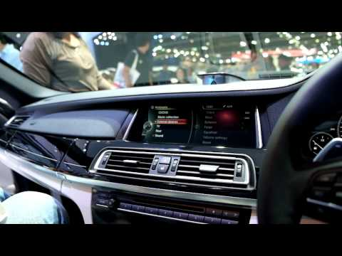 Bang & Olufsen sound system on BMW ActiveHybrid 7