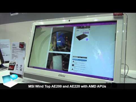 MSI Wind Top AE220 AE200 AMD APU all in one