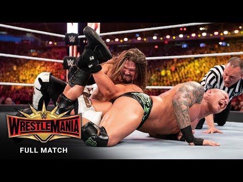 FULL MATCH - AJ Styles vs. Randy Orton: WrestleMania 35