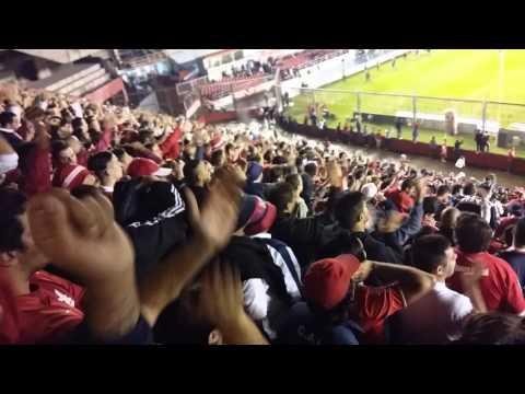"""""""Por que la historia lo piden tienen que ir al frente..."""" - La Barra del Rojo - Independiente"""