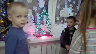 Подарок для детского сада (светодиодная ель). Совместная работа с каналом  Владимира Натынчик