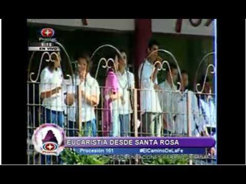 Eucaristia de la Divina Pastora desde Santa Rosa 2008 Parte 01