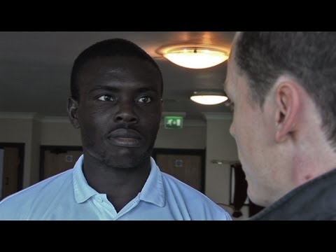 Ismail Yakubu Post Match Iv Torquay H 28Sep13