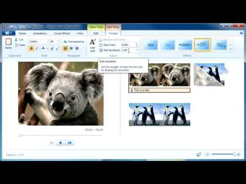 windowslive - Windows Live Movie Maker Quick Tutorial.