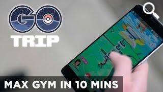 How to get a Level 10 Gym fast in Pokémon GO! by GOtrip
