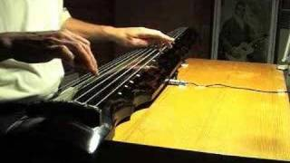 Tune for a Peaceful Night - guqin - Chinese slide guitar