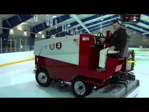 Day In The Life Of A Zamboni Driver With Sean - Wednesday, February 4, 2015