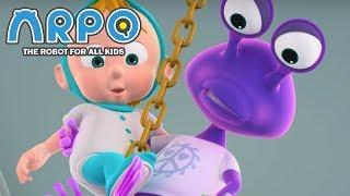 Video ARPO The Robot For All Kids - Space Alien Adventure | Compilation | Cartoon for Kids MP3, 3GP, MP4, WEBM, AVI, FLV Februari 2019