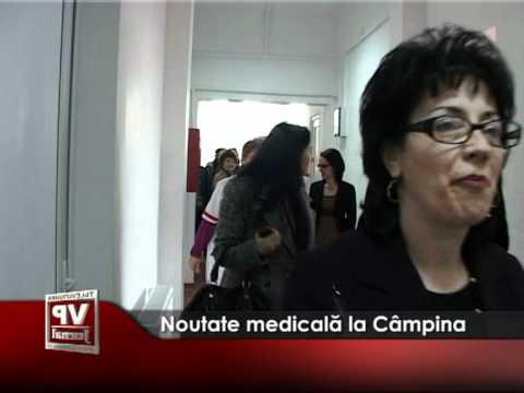 Noutate medicală la Câmpina