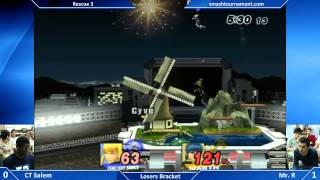 Rescue 3 – Mr. R vs Salem – A very good display of Marth and ZSS play + Hype Ending
