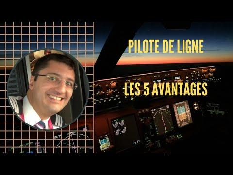 Les 5 AVANTAGES DU MÉTIER DE PILOTE DE LIGNE