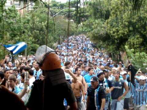 Geral do Grêmio - Gre-nada Deslocamento Tricolor - Geral do Grêmio - Grêmio