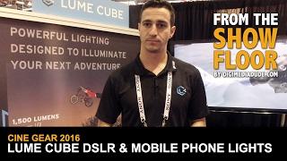 Video Lume Cube Lights For DSLRs, Phones & Other Cameras @ Cine Gear Expo 2016 MP3, 3GP, MP4, WEBM, AVI, FLV Juli 2018